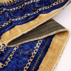 Image 4 - OurWarm Eid Mubarak Muslimischen Tasche Gebet Matte Teppich Baumwolle Teppich Reise Geschenke Für Gast Schlafzimmer Ramadan kareem Party Dekoration