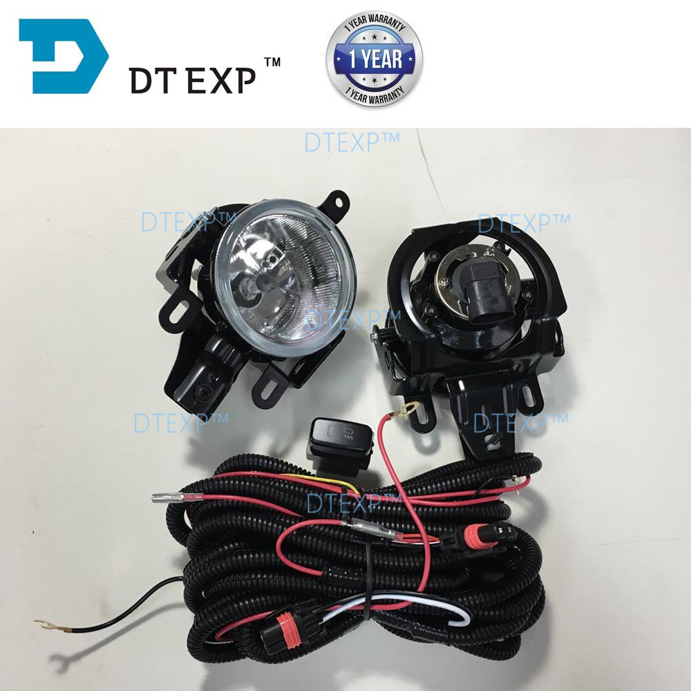 2003 2006 pajero v73 fog lamp with bulb MONTERO fog lamp full set with wire and