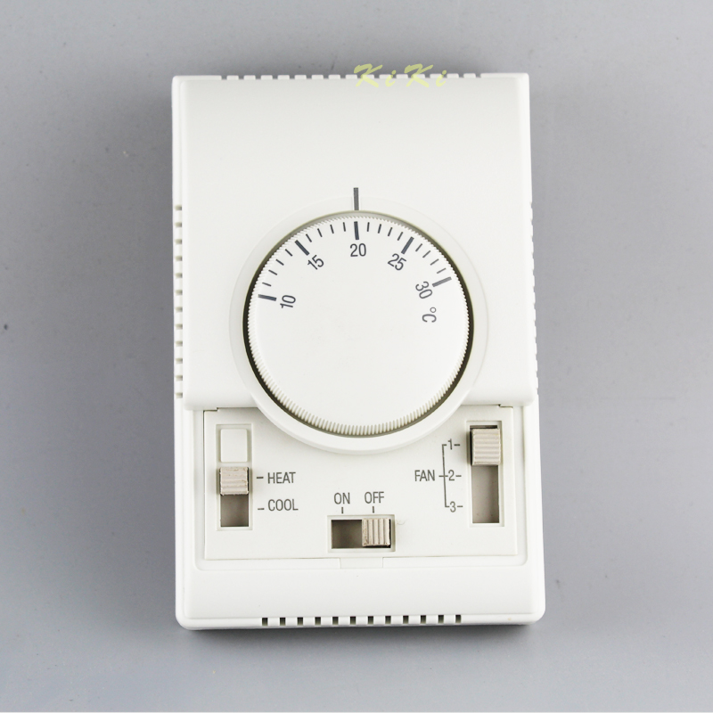 Room Mechanical/manual Thermostat Air Conditioner Temperature Controller for Home or hotel use Temperture Controller replacement air compressor spares for ingersoll rand thermostat valve 35288117 openning temperature 70degree c