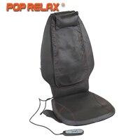 POP RELAX DC12V автомобиля домой Применение массажная подушка Электрический Отопление шиацу мобильный Rolling Вибрационный массажер для спины масса