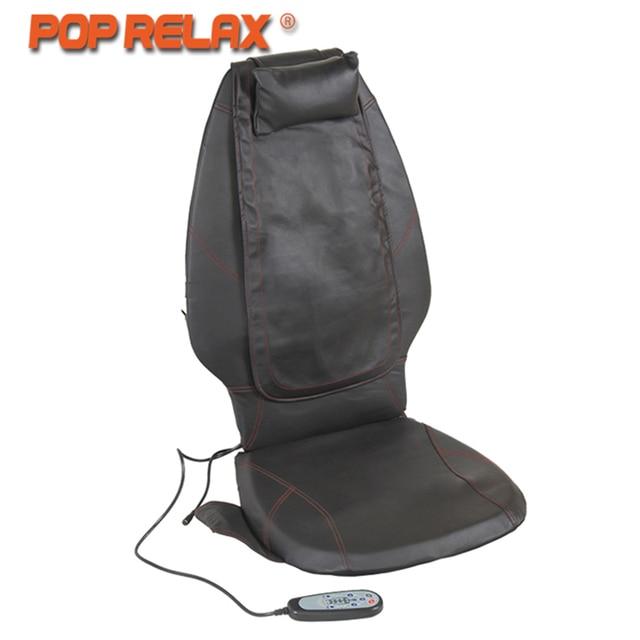 Cuscino Shiatsu Con Massaggio Termico.Pop Relax Dc12v Uso Domestico Auto Massaggio Cuscino Riscaldamento Elettrico Shiatsu Mobile Di Rotolamento Vibrazione Back Massager Del Sedile