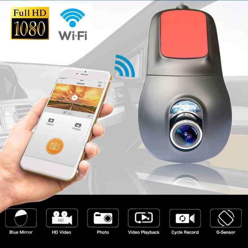 Беспроводной мини 1080 P 170 объектив Wi-Fi автомобильный видеорегистратор Камера видеокамера авторегистратор автомобилей регистраторы видеорегистратор