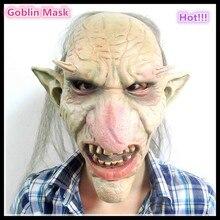 Halloween Horror Die Goblins Königreich Maske Alien maske Großen Nase Terrorist Monster Dämon Maske Simulation Teufel Latex Maske