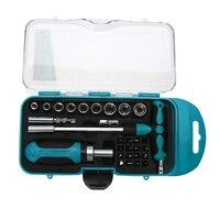 29pcs Magnetic Screwdriver Set Auto Car Repair Tool Set For Electrical Mechanical Precise Manual Tools