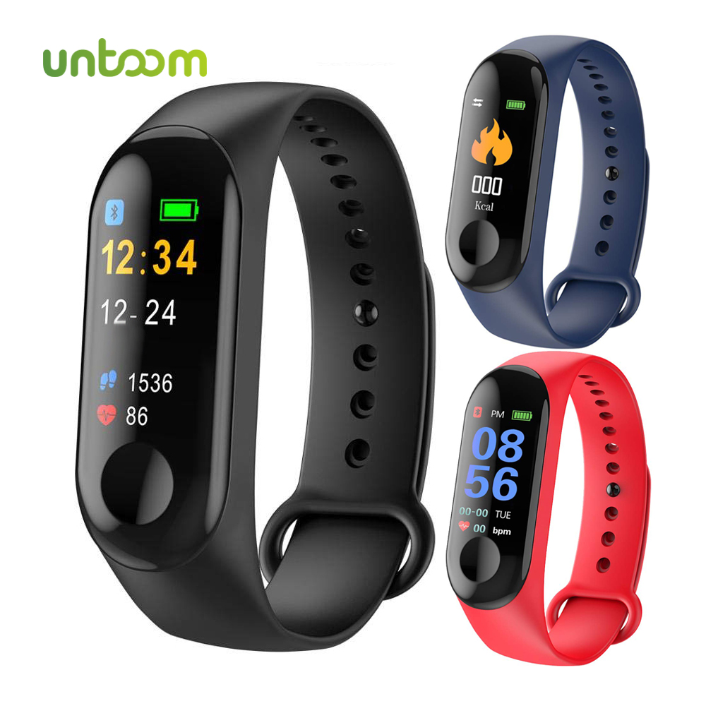 Untoom Sport Smart Watch IP68 Waterproof Fitness Bracelet Color Screen Heart Rate Blood Pressure Monitor Watch for iOS AndroidUntoom Sport Smart Watch IP68 Waterproof Fitness Bracelet Color Screen Heart Rate Blood Pressure Monitor Watch for iOS Android