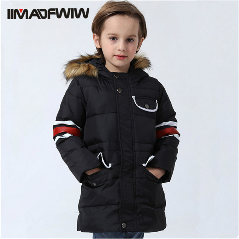 2016 Children Winter Coat Outerwear Down Jackets For Boys Girls Fashion High Quality Kids White Duck Down Jacket for 4-10T