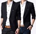 Европейских дизайнер мужчины марка роскошь джентльмен официальный полный мужские пиджаки приталенный черный куртки для мужчины