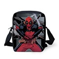 Cool Super Hero Deadpool Printed School Bags for Boys Children Schoolbag Portable Small Shoulder Bag Kids Bookbag Men Mochila