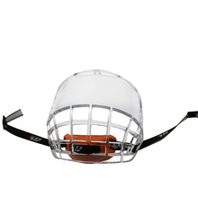 GY Ice Hockey Mask Helmet Cage Anti-fog on both sides Thicken Polycarbonate with Light Weight Strong impact Resistance Size Free
