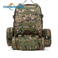 Chuwanglin New 50L Large Capacity bag Military Rucksacks Backpack ,Moutaining Nylon Bag 12 Color Travel Bags QG7111
