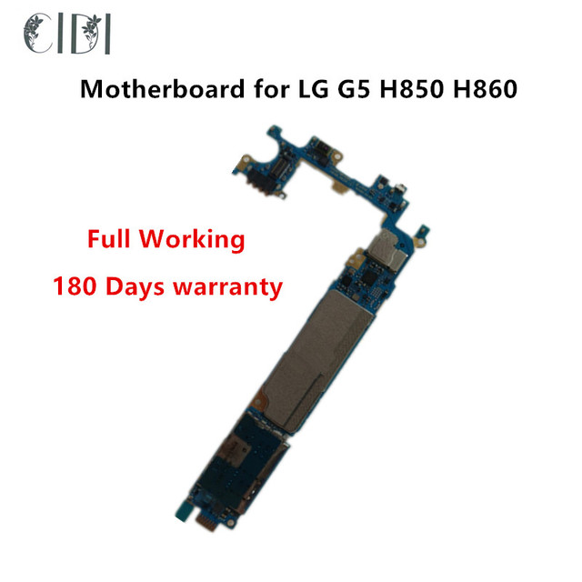 US $63 0 |CIDI Full Working Original Unlocked For LG G5 H850 H860 H858 H820  H830 LS992 Motherboard Logic Mother Circuit Board With Chips-in Mobile