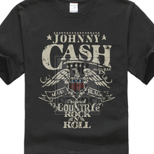 Johnny Cash Country Rock N Roll T Shirt S M L Xl 2Xl New Official T Shirt