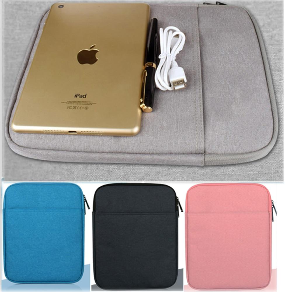 Bonito Carregamento Macio Capa Inteligente Tablet Sleeve Bag Bolsa - Acessórios tablet