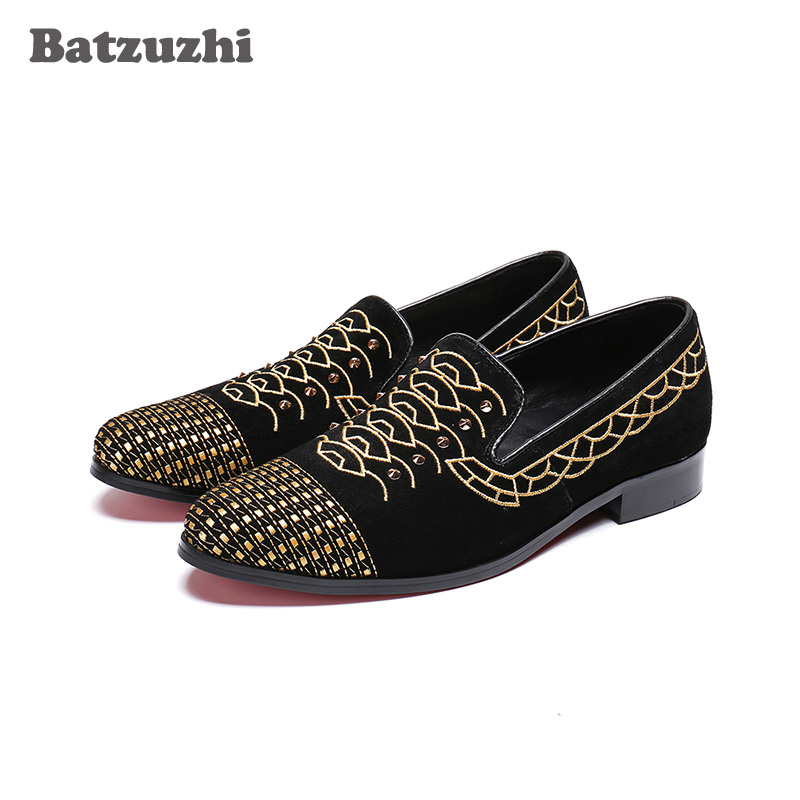 Batzuzhi Brand Designers Loafers Shoes Men Black Suede Casual Leather Mens Shoes Flats Drivers Comfortable mocassin homme! Batzuzhi Brand Designers Loafers Shoes Men Black Suede Casual Leather Mens Shoes Flats Drivers Comfortable mocassin homme!