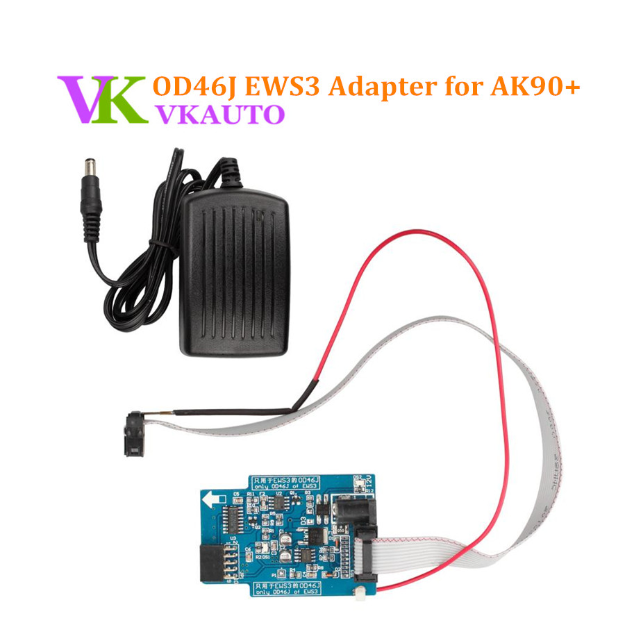 K-LINE Kline OD46J EWS3 Adapter for AK90 Key Programmer promotion newest ak90 key programmer ak90 pro key maker for b m w all ews version v3 19 plus ak90 with free shipping