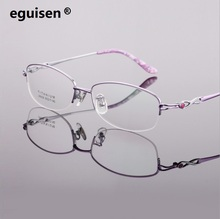 Width-145 new titanium spectacles frames ultra light business big face woman female myopia reading glasses eyewear oculos