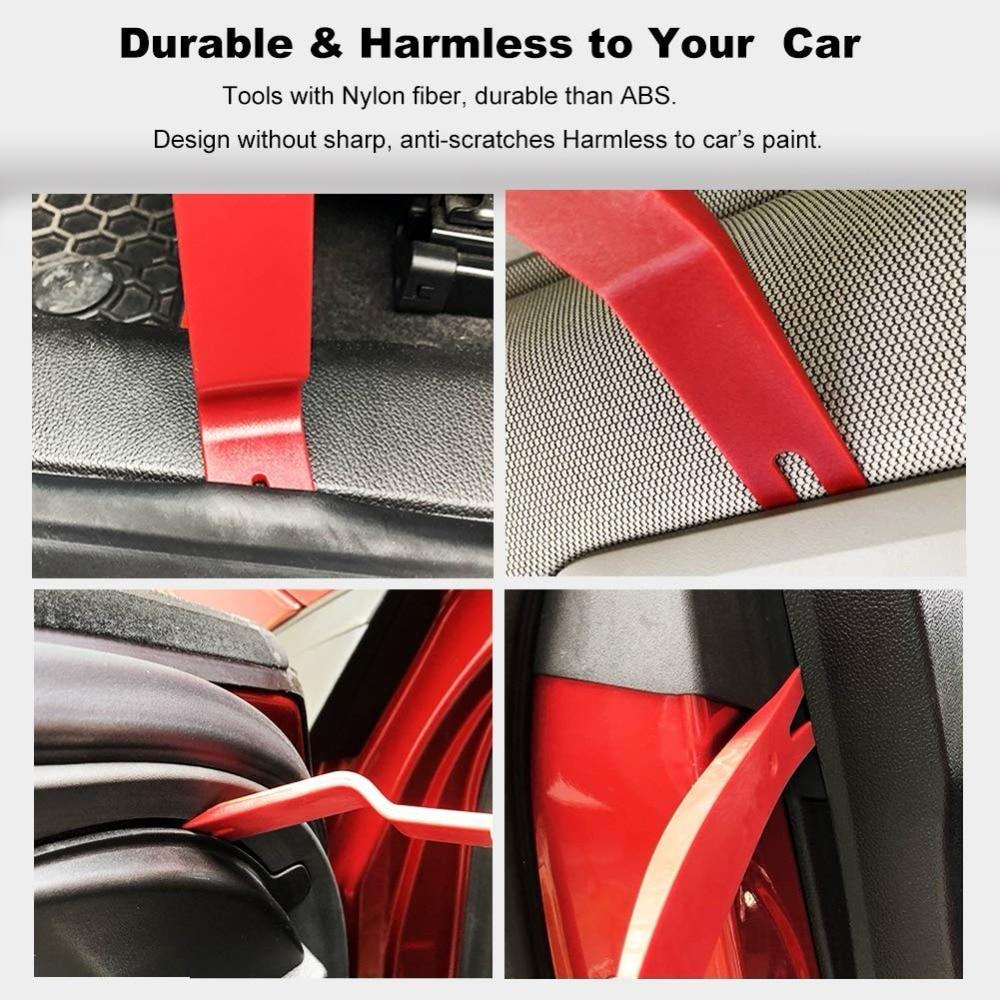 Car Trim Removal Tools Kit Auto Panel Dash Audio Radio
