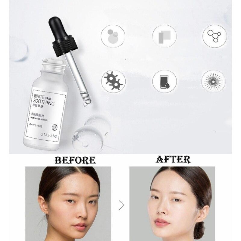 20ml Hyaluronic Acid Serum Moisturizing Face Shrink Pore Repair Whitening Anti-aging Essence Skin Care Dropshipping