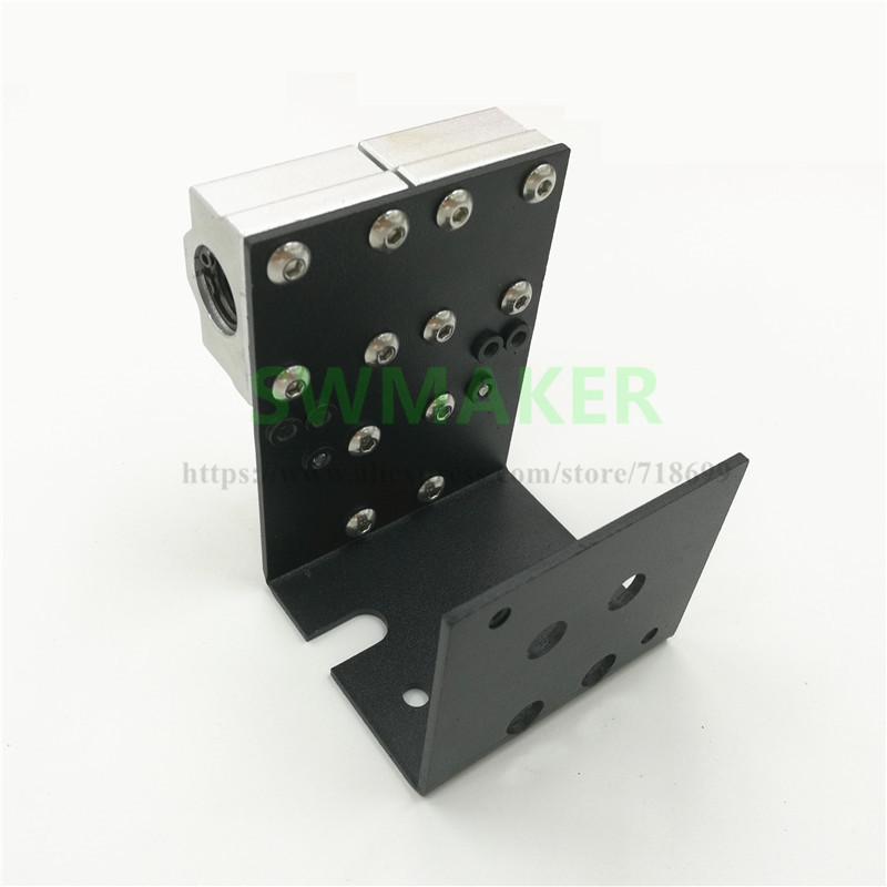 swmaker reprap impressora 3d prusa i3 anet a8 mais todo o metal x transporte para mk8