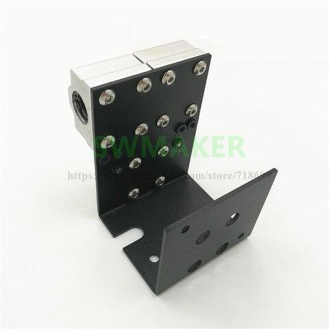 swmaker reprap impressora 3d prusa i3 anet a8 mais todo o metal x transporte para