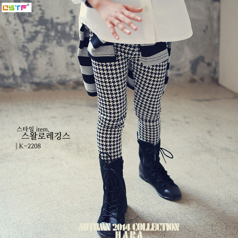New Arrival Girls Winter Leggings Thick Warm Printing Baby Girl Pantalones Fashion Elastic Waist Kids Pants ethnic style elastic waist tribal print girl s pants