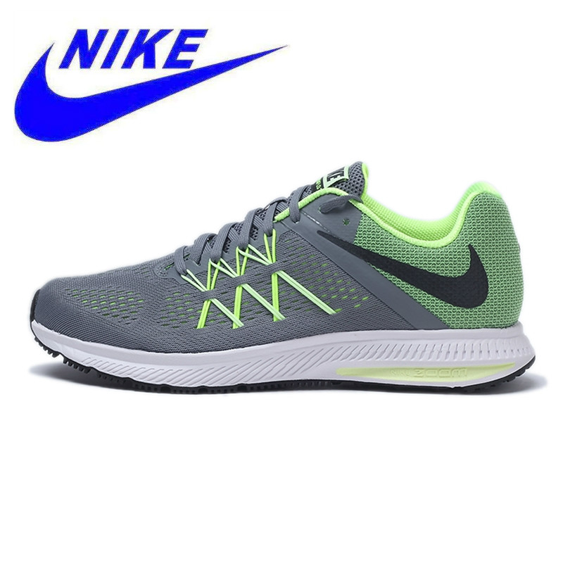 info for 39d8f a9c5e US $260.62 10% OFF|New Arrival Original NIKE 2017 New Arrival Spring ZOOM  WINFLO 3 Men's Running Shoes Sneakers Trainers-in Running Shoes from Sports  ...