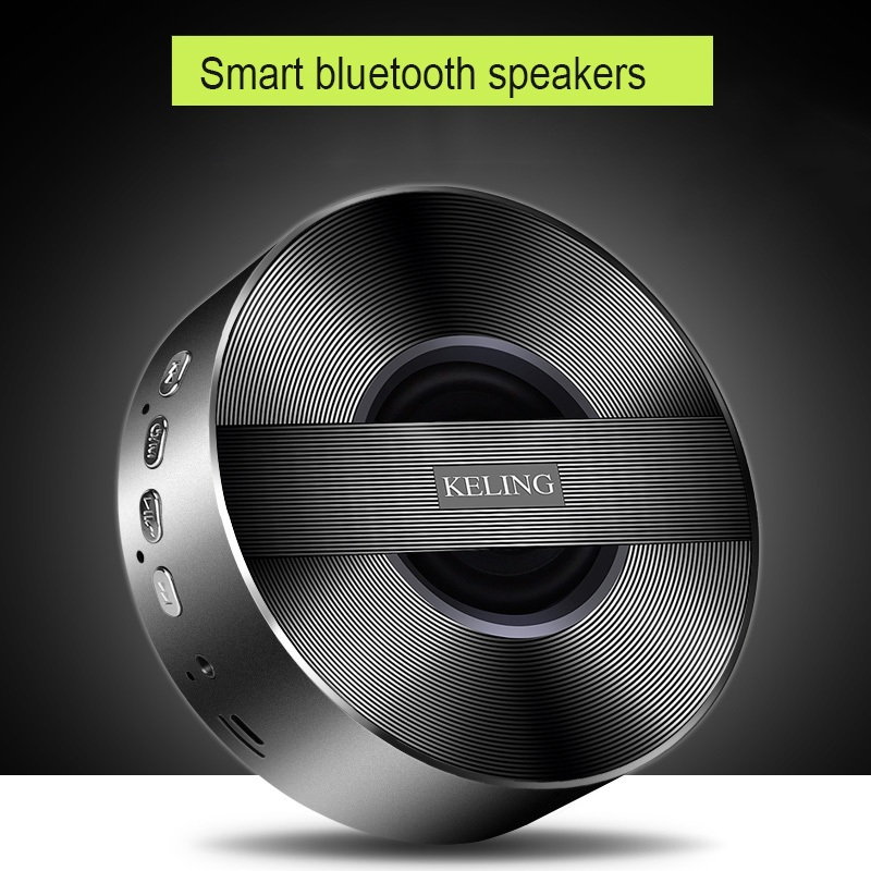 AINGSLIM Super Bass Bluetooth Altoparlante Portatile Stereo Senza Fili Music Player Speaker Chiamate in Vivavoce carta di Tf di Sostegno Gioco