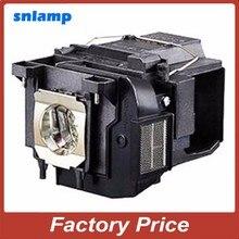 100% snlamp Совместимость лампы проектора ELPLP85 V13H010L85 с корпусом для CH-TW6200 CH-TW6600 CH-TW6600W EH-TW6600 EH-TW6600W