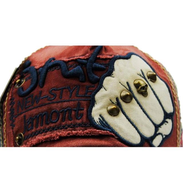SKULL HAND BIZBALL CAPS (6 VARIAN)