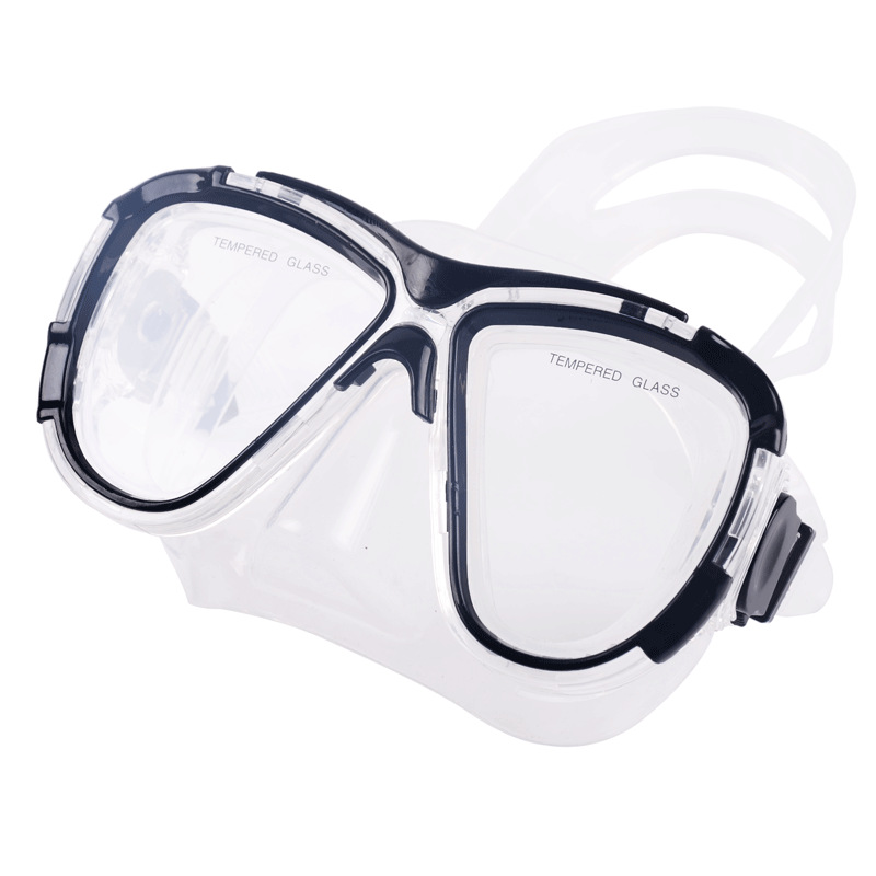 Diopter Snorkeling   Ask Myopia Diving Masks With Prescription Lens(Nearsight 0-9.0), Corrective Scuba Mask For Sports Camera
