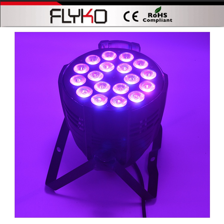 Free shipping hot sell 18*10W/18*12W wedding decoration led par lights DMX512Free shipping hot sell 18*10W/18*12W wedding decoration led par lights DMX512