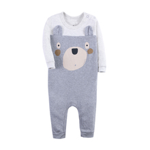 цена на Baby Romper Newborn Baby Boy Clothes Cute Animal Clothing Ropa Bebe Children One Piece Fashion 3 Styles Rompers 1pcs