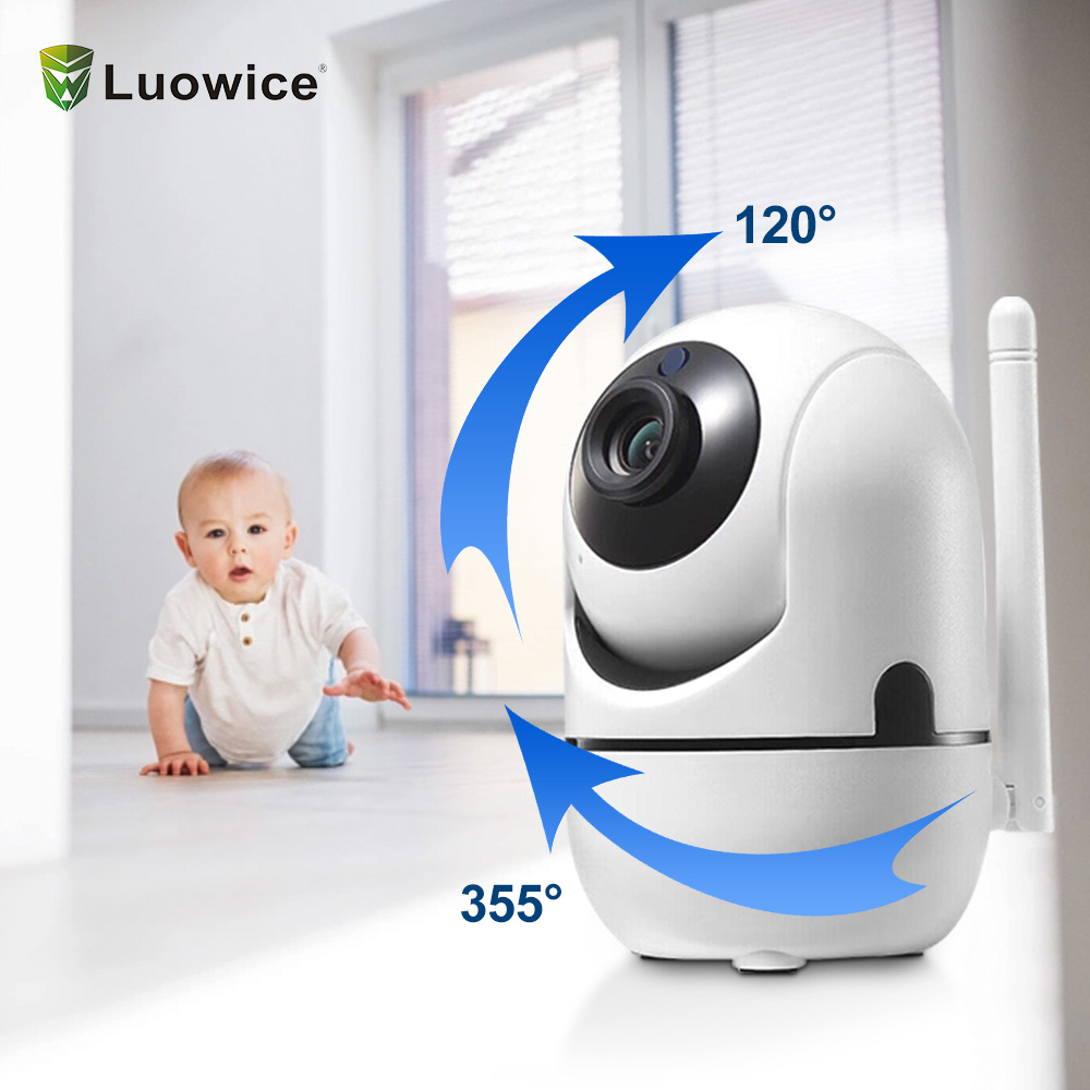 Image 2 - 2MP Surveillance CCTV Camera Indoor  wireless security  for home Two way audio  TCP/IP/ONVIF motion sensor mini wifi camera-in Surveillance Cameras from Security & Protection