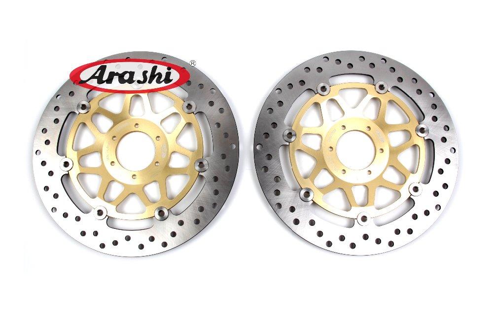 Arashi CNC Motorcycle Front Brake Disc Brake Rotors For HONDA Hornet 250 2001 CBR900 RR RS125 R VTEC 400 2015 CBRF 400