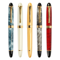 High quality Iraurita Fountain pen Full metal Golden Clip luxury pens Caneta Stationery Office school supplies papelaria gift Fountain Pens