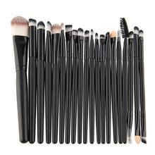 2016 Newest High Quality 20pcs Make Up Brushes Set Multi Function Foundation Eyeshadading Eyebrow Cosmetic Tool