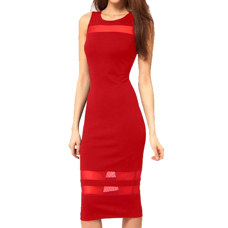Buy Cheap New Fashion Women Sexy Backless Unique Summer Tropical Dress Sleeveless Business Bodycon Clubwear Casual Sheath Dresses 427