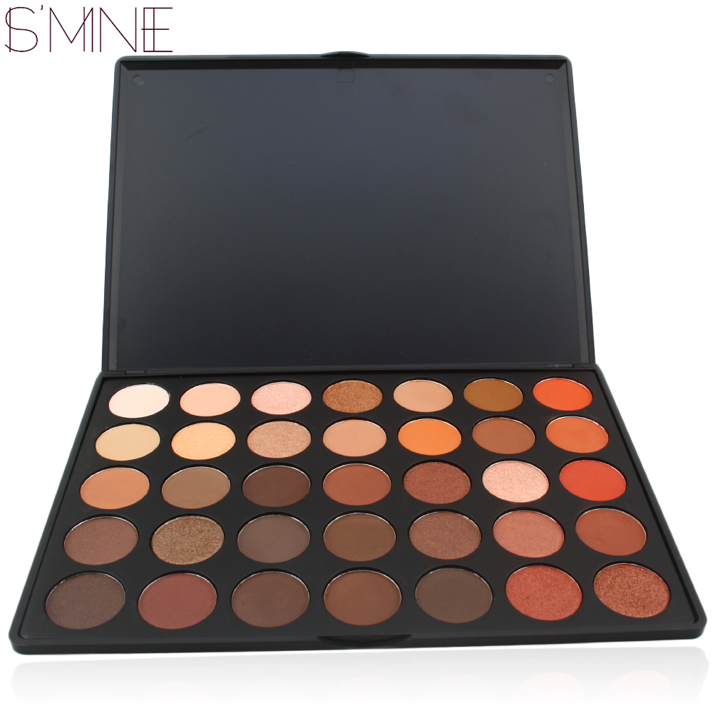 ISMINE 35 Couleur ombre à paupières Mat Shimmer make up palette 35O fard à paupières palette cosmétiques kit