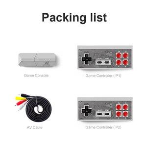 Image 4 - DATEN FROSCH Retro Video Spiel Konsole 8 Bit Gebaut in 1400 Klassische Spiele Mini Drahtlose Konsole Unterstützung AV/HDMI ausgang Dual Gamepads