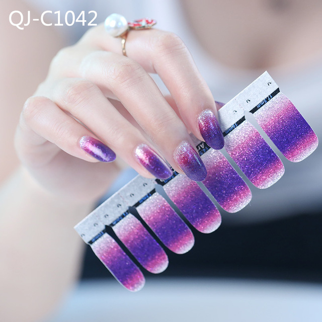 BlueZoo Nail Art Stickers Nails Art Sequin Shining Stickers On Nail ...