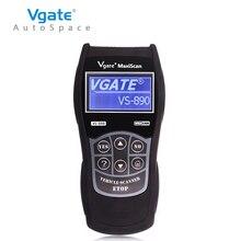 Последним OBD2 Сканер Vgate Maxiscan VS890 Неисправностей Code Reader Авто диагностический Инструмент Универсальный Для Автомобилей OBD 2 II OBDII VS 890 голландский