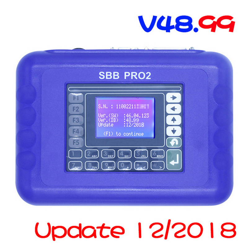 SBB Pro2 Universal Key Programmer V48.99 IMMO Remote No Token System Support Cars to 2018SBB Pro2 Universal Key Programmer V48.99 IMMO Remote No Token System Support Cars to 2018