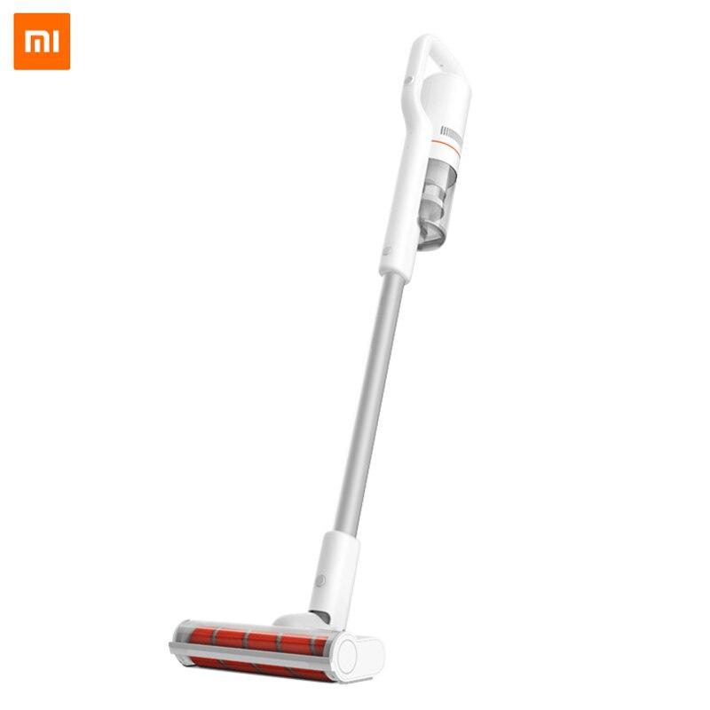 Xiaomi Roidmi F8 Handheld Aspirador de pó Sem Fio para Casa Tapete Do Carro Coletor de Poeira do Filtro Ciclone Bluetooth Wi-fi LEVOU Luz