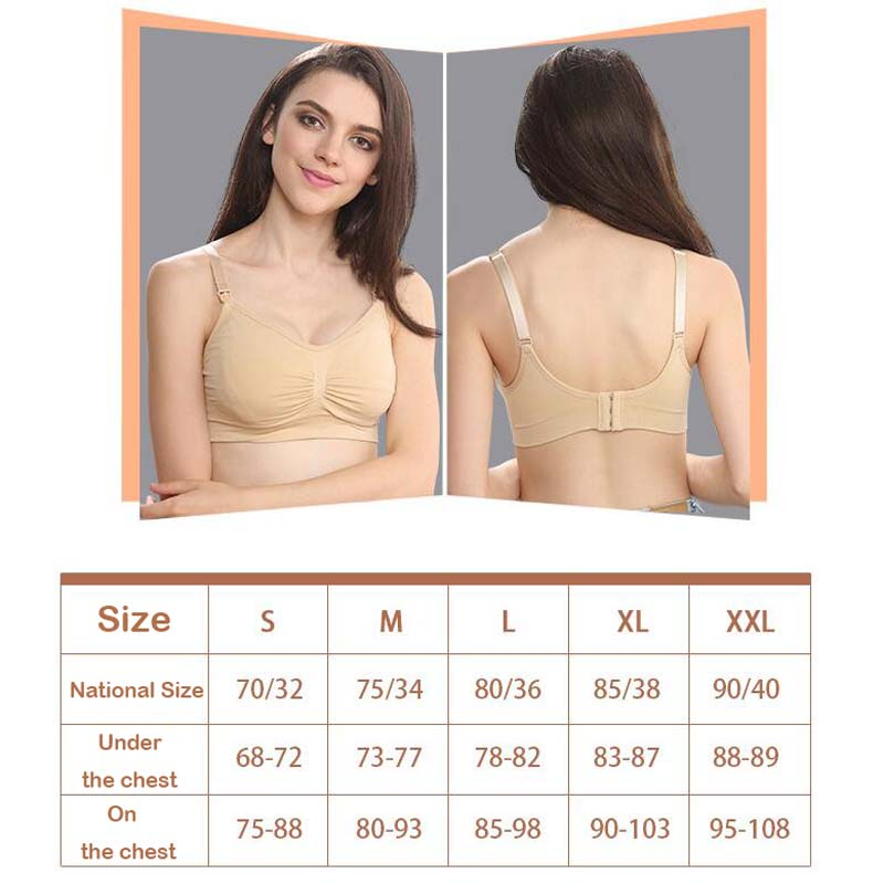 3899bfb5d426b Mother Care Wireless Maternity Breast Feeding Bra Hands Free for Pump  Maternal Nursing-in Maternity   Nursing Bras from Mother   Kids on  Aliexpress.com ...