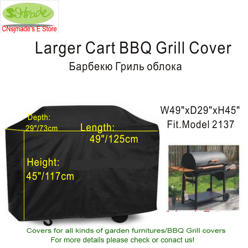 49in. Larger BBQ Grill cover