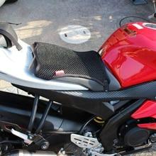 Универсальный чехол для сиденья мотоцикла защита от солнца Водонепроницаемый 3D сетка для YAMAHA для Honda для BMW