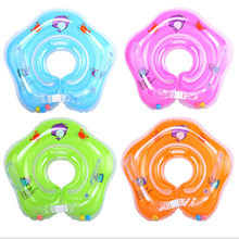 1/2/4 pcs Baby Swimming Safety Neck Ring Tube