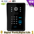 video door phone remote controlled remote door intercom IOS Android available wifi doorbell with 720P camera intelligent home