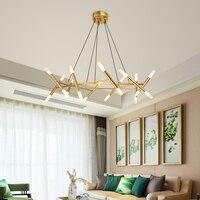 Современные подвесные светильники, светодиодная G9 золото ангельская лампа для гостиной, спальни, кухни, потолочные светильники, Декор для д