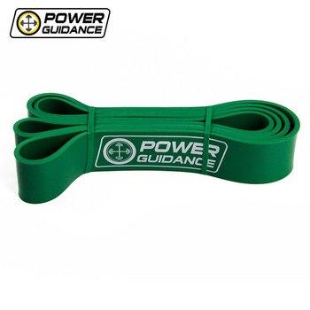 Мощность Руководство Pull Up Эспандеры фитнес латекс мощность группа для петля для кроссфита резиновая Expander висит ремень Training зеленый